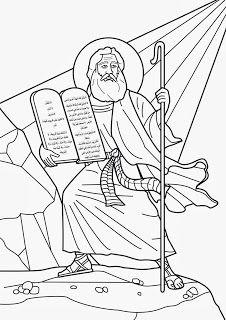 Imagenes Cristianas Para Colorear Dibujos Para Colorear De Los Diez Mandamiento 10 Mandamientos Para Ninos Artesania Biblica Historias De La Biblia Para Ninos