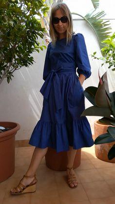 Modest Fashion, Hijab Fashion, Fashion Dresses, Fashion Fashion, Petite Fashion, Fashion Online, Dress Outfits, Casual Dresses, Summer Dresses