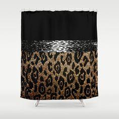 Shower curtain| society6 #animalprint