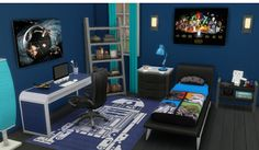 My Sims 4 Blog: Boy's Mattress Recolors+Star Wars Canvases by SunshineAndRosesCC