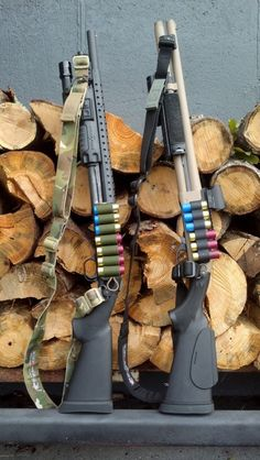 Mossberg 590 & Remington 870 are two of the most popular shotguns used for home defense and by the law enforcement community alike. Both nicely dressed here. Weapons Guns, Guns And Ammo, Ninja Weapons, Combat Shotgun, Tactical Shotgun, Mossberg 500 Tactical, Remington 870 Tactical, Mossberg Shotgun, Fire Powers