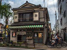 "Asakusa/Yoshiwara Oomuraan 1/7 On Yoshiwara's main street (Nakanocho) a remnant from the old days -actually 1923: ""Oomuraan"" an old school soba-ya. #Asakusa, #Yoshiwara, #Oomuraan, #soba September, 13 © 2015 Grigoris A. Miliaresis"