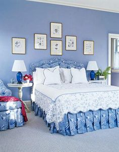 Blue Room for Mom's Apartment