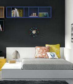 Compra online tu habitación juvenil con cama Tatami, sorprenderás a tus hijos, con el diseño moderno y desenfadado. Envío y montaje GRATIS Península.