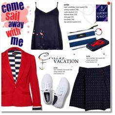 Cruise vacation with The Lucky Knot