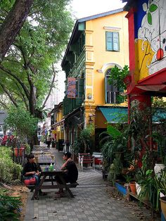 Blu Jaz Cafe, Bali Lane, Kampong Glam, Singapore
