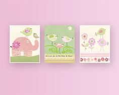 Baby girl Nursery wall art print Baby room decor by DesignByMaya, $50.00 #nursery #babyboy #babyroom