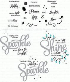 Sparkle & Shine: Holiday Additions Mini Stamp Set