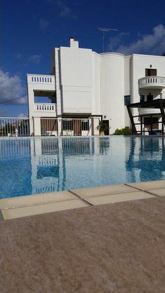 Villa Varouxakis Platanias Crete, Villa, Spaces, Mansions, House Styles, Outdoor Decor, Home Decor, Decoration Home, Manor Houses