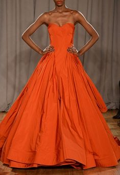 Zac Posen; beautiful style, but I'd like it in a different color.