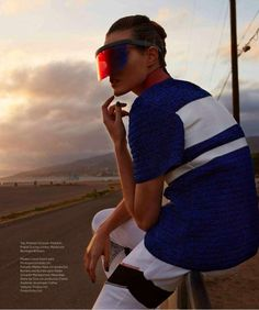 """Tour de Femme"" by Dirk Kikstra for Harper's Bazaar Mexico June 2015"