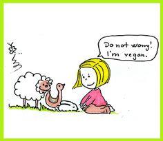 Do not worry! I will not eat you. I'm vegan. Vegan Memes, Vegan Quotes, Vegan Humor, Vegan Facts, Food Quotes, Why Vegan, Vegan Vegetarian, Vegan Food, Reasons To Be Vegan