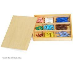 Perlový materiál pro násobkovou tabulku