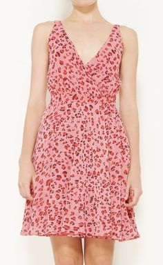 """Erin Fetherston Pink And Multicolored Dress. """"This print and color just make me feel happy. It's just so bright and cheerful.""""   VAUNTE"""