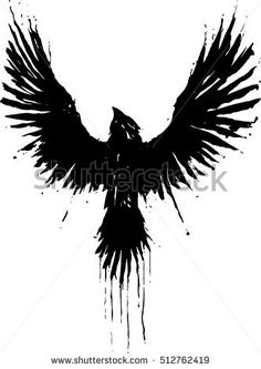 Find Grunge Crow stock images in HD and millions of other royalty-free stock photos, illustrations and vectors in the Shutterstock collection. The Crow, Norse Tattoo, Viking Tattoos, Crow Tattoo Design, Tattoo Designs, Viking Tattoo Design, Body Art Tattoos, Sleeve Tattoos, Ear Tattoos