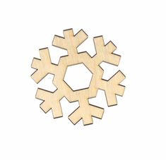 Arts,crafts & Sewing Cooperative 50pcs Christmas Holiday Wooden Collection Snowflakes Buttons Snowflakes Embellishments 18mm Creative Decoration Pretty And Colorful Home & Garden
