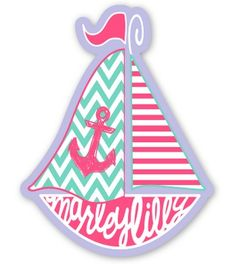 Set of FREE August Marley Lilly Promotional Stickers