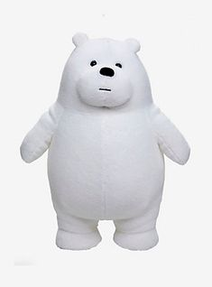 Shop for the latest we bare bears, pop culture merchandise, gifts & collectibles at Hot Topic! From we bare bears to tees, figures & more, Hot Topic is your one-stop-shop for must-have music & pop culture-inspired merch. Cute Stuffed Animals, Dinosaur Stuffed Animal, Toddler Boy Dress Clothes, Ice Bear We Bare Bears, White Polar Bear, Towel Crafts, Cute Toys, Plushies, Baby Toys