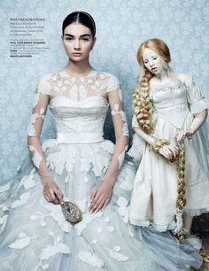 antonina vasylchenko by danil golovkin for vogue russia december 2012   visual optimism; fashion editorials, shows, campaigns & more!
