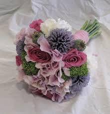 Bildresultat för hortensia brudbukett