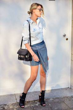 Greys And Blues Casual Chic Style
