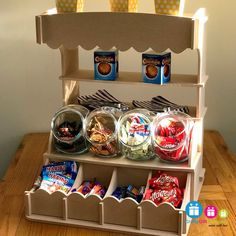 Candy Sweet Stall, Wedding Candy Cart, Birthday, Party, Christening, Anniversary, Display Stand