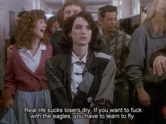 Unpopular opinion in the heathers fandom: movie>musical 80s Movie Quotes, 80s Movies, Film Quotes, Good Movies, Movie Tv, Funny Quotes, Indie Movies, Humor Quotes, Action Movies
