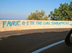 Star Walls - Scritte sui muri. — Amore ipercalorico