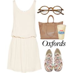 """What Do You Wear With Oxfords?"" by maria-maldonado on Polyvore"