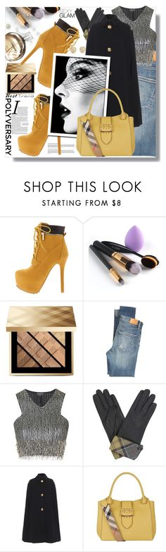 """""""Little Miss Natural"""" by carleen1978 ❤ liked on Polyvore featuring Burberry, Citizens of Humanity, Chanel, Topshop, Barbour, Monday, Blue Nile, polyversary and contestentry"""