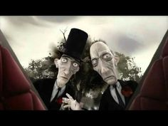 This Way Up  A.T Shank & Son have a bad day at the parlour when a falling boulder flattens their hearse. Emotional and literal pitfalls lie in wait for the odd couple as they make their way cross country with just a coffin for company. This short animated caper puts the fun back into funeral as their journey