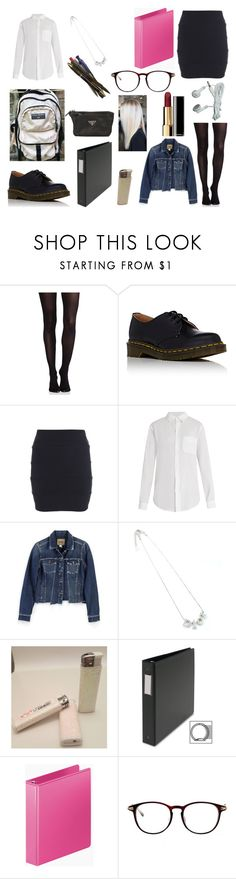 """""""Untitled #456"""" by ps-ec ❤ liked on Polyvore featuring SPANX, Current/Elliott, Paige Denim, Matteo, Mead, Chanel and Prada"""