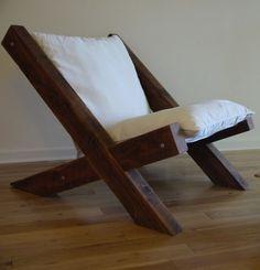 Barn Wood Lounge Chair More