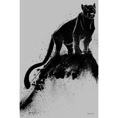 Maxwell Dickson ' Cat' Wall Art