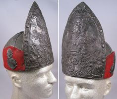 enlisted man's mitre hat of Peter III Holstein Artillery regiment. Emperor Peter III parents were Karl Friedrich, Duke of Holstein-Gottorp (nephew of Charles XII of Sweden) and Anna Petrovna, a daughter of Emperor Peter the Great of Russia and his second wife, Catherine I of Russia. According to most historians, he was mentally immature and very pro-Prussian, which made him an unpopular leader.