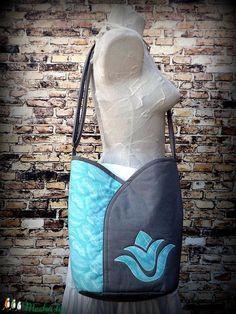 Tulipános táska- átvetős ( cross body )-