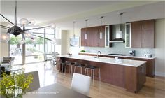 The Oronoco Waterfront Residences received a 2014 Best in American Living Platinum Award for Multifamily, Adaptive Reuse. House, Cool Kitchens, Home, Kitchen, American Kitchen, Home Builders, American Living