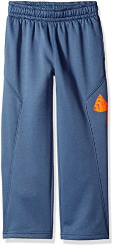 Under Armour Toddler Boys Big Logo Pant Slate Blue 3T *** Find out more about the great product at the image link.Note:It is affiliate link to Amazon.