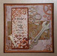 Men card Scrapbook Cards, Scrapbooking, Art Blog, Frame, Men, Decor, Birthday, Picture Frame, Scrapbooks
