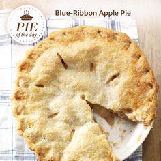 Blue-Ribbon Apple Pie Recipe from Taste of Home -- shared by Collette Gaugler, Fogelsville, Pennsylvania