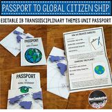 New and updated IB Passport to Global Citizenship is now yours! This is a super fun tool for PYP students in the IB classroom. Use it to reinforce all your Transdisciplinary Themes, Central Ideas and to support making global connections throughout your Ib Classroom, Future Classroom, Classroom Themes, Citizenship Activities, International Baccalaureate, Global Citizenship, Global Awareness, Inquiry Based Learning, Student Information