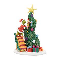 "Department 56: COLLECTING - ""It Takes Two, Grinch & Cindy-L"" - New Introductions 4038647"