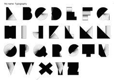 Jean Romain, Bordeaux-based designer. Jean Romain No Name Typography 2010