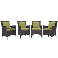 Item specifics     Condition:        New: A brand-new, unused, unopened, undamaged item in its original packaging (where packaging is    ... - https://lastreviews.net/outdoor/patio-and-deck/modway-furniture-convene-4-piece-outdoor-patio-dining-set-espresso-peridot/