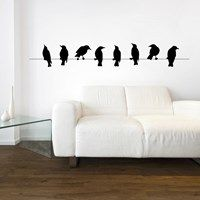 Bird & Butterfly Wall Stickers from Next Wall Stickers