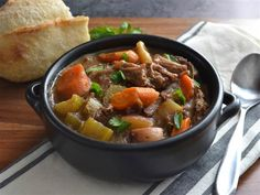 Rosemary and garlic slow cooker beef stew