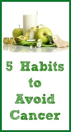 5 Habits to Avoid Cancer - Natural Holistic Life #cancer #health #natural #holistic