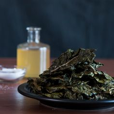 Salt And Vinegar Swiss Chard Chips