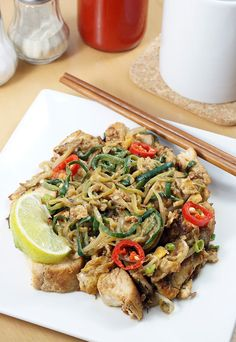 A delicious #keto take on Mee Goreng. Shared via www.ruled.me/
