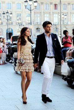 Couple Style - olivia palermo and boyfriend johannes huebl